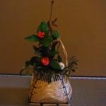 床の間を飾った茶花