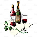 ワインイラストその2