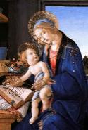 『聖母子(書物の聖母)』 1482-83年頃 ポルディ・ペッツォーリ美術館 (ミラノ)所蔵