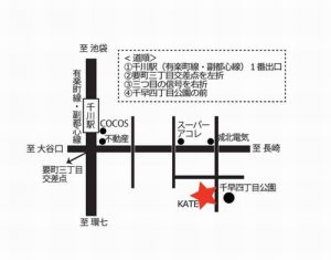 KATE Salon マップ