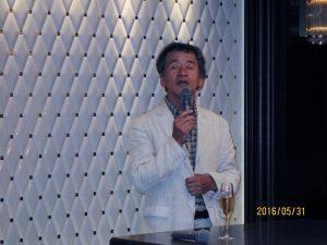 2016,5,31ワイン会上田先生