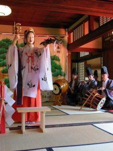 番田神代神楽