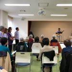 ウタテラスが区民ひろば上池袋で開催され区民講座に参加しました。