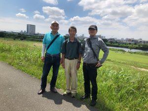 二期の会 東京の水源 多摩川中流域の散策(2019年7月10日)実施報告