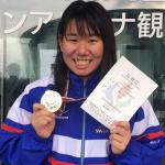 鎌田美希さんジャパンパラ水泳競技大会2019に出場します。(シニアの再チャレンジを支援する会)