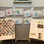 【オリパラ研】11月17日、ハンドスタンプ・アート・プロジェクト展に行ってきました。